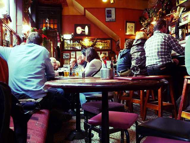 The International Bar interior