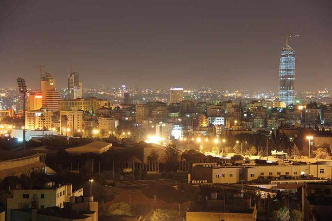 Amman at night | © Freedom's Falcon/Wikicommons