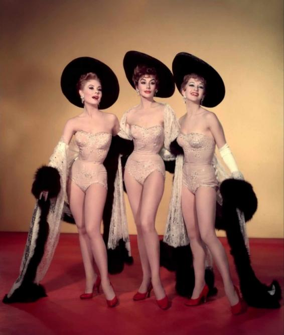Mitzi Gaynor, Kay Kendall, and Taina Elg in Les Girls (1957) | © ACMI