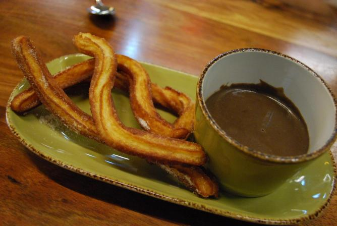Churros con Chocolate @ MoVida, Melbourne