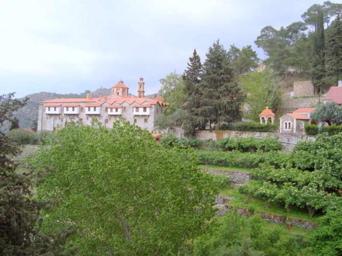 Machairas Monastery | © Andreas2009/WikiCommons