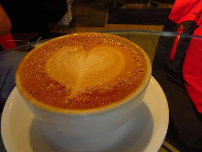 Cafe Rosso Latte