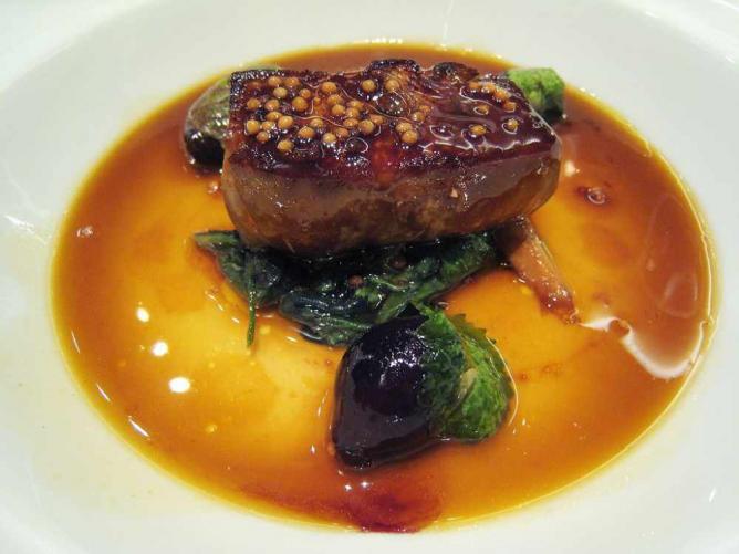 """Foie gras """"en cocotte"""""""
