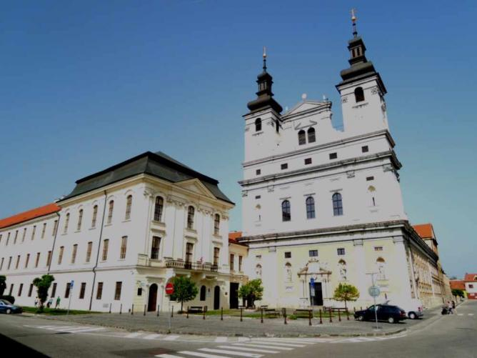 The old university college and the cathedral | © Sokoljan/Wikicommons