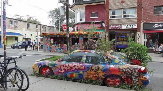 Art at Kensington Market