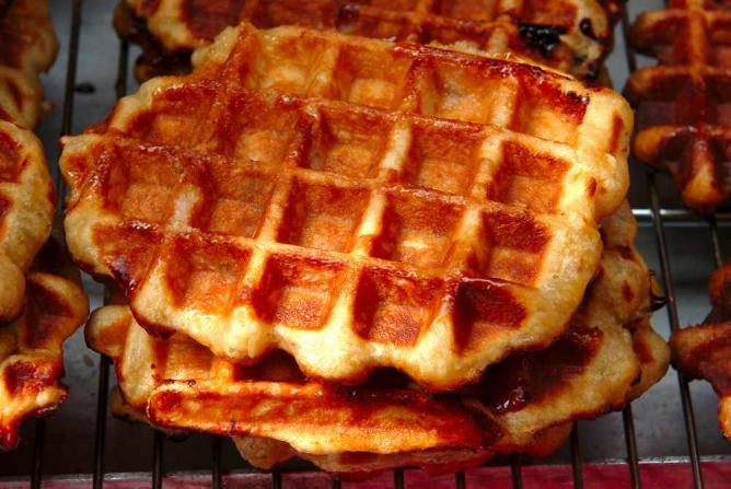 Liège waffles | Courtesy of Marc Verpoorten