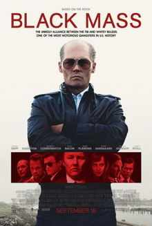 Black Mass Theatrical Release Poster