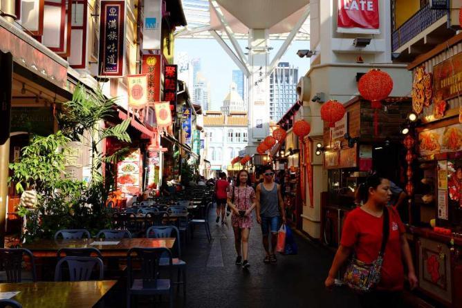 Chinatown Food Street © Nicolas Lannuzel/Flickr