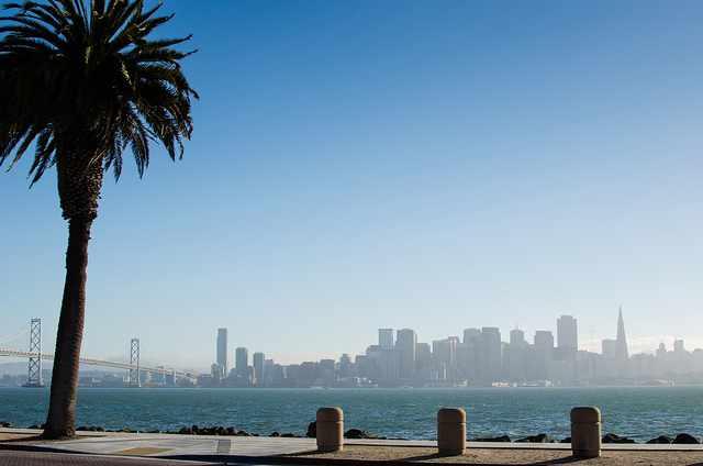 San Francisco skyline from Treasure Island | © Franco Folini/Flickr