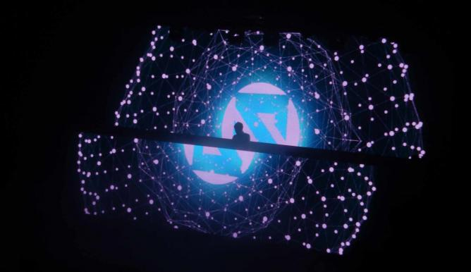 Zedd playing in concert with cool lights | © swimfinfan/Flickr