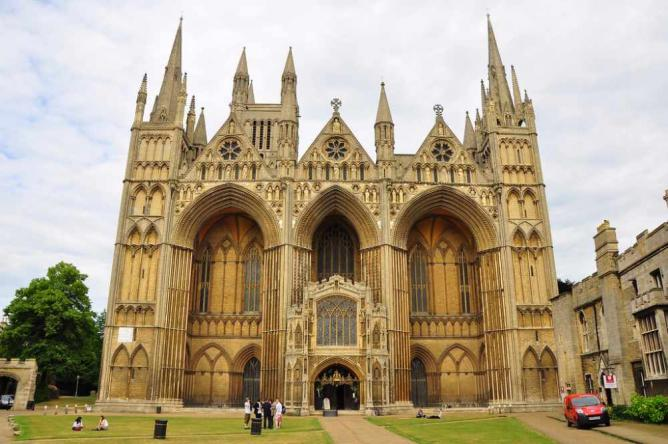 Peterborough Cathedral | © Ben Sutherland/Flickr