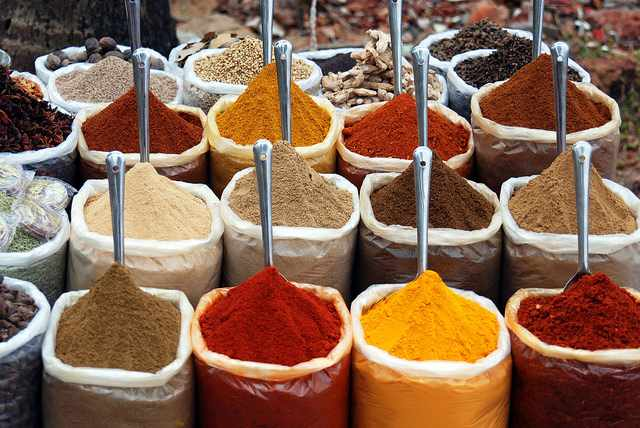 Indian Spices|©sara marlowe/ Flickr