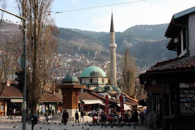 Sarajevo's Old Town | Ⓒ Bryan Pocius/Flickr
