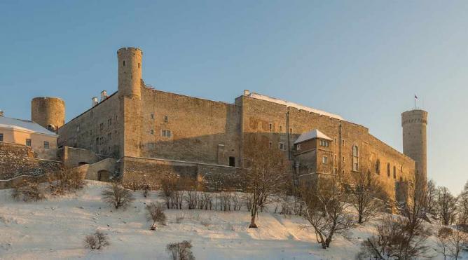 Toompea Castle | © Abrget47j/Wikicommons