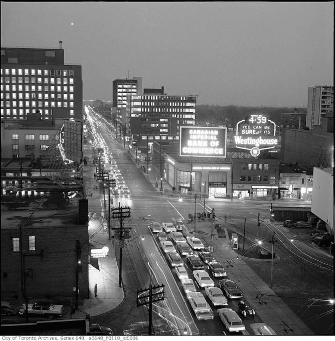 Yonge Street and Eglinton Avenue | © Toronto History/Flickr