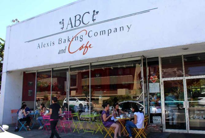 Exterior of Alexis Baking Company