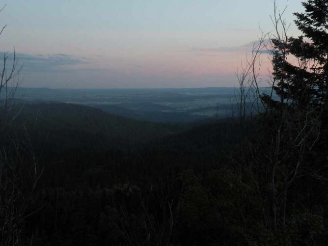 Sunset at Mount Spokane State Park