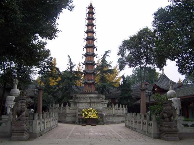 Chengdu Wenshuyuan Tower | © Jason Zou/Wikimedia Commons