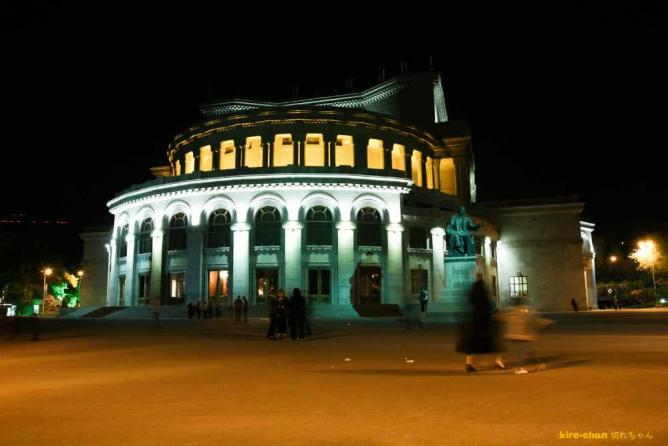 Yerevan Opera at Night | © Erik Furlanis/Flickr