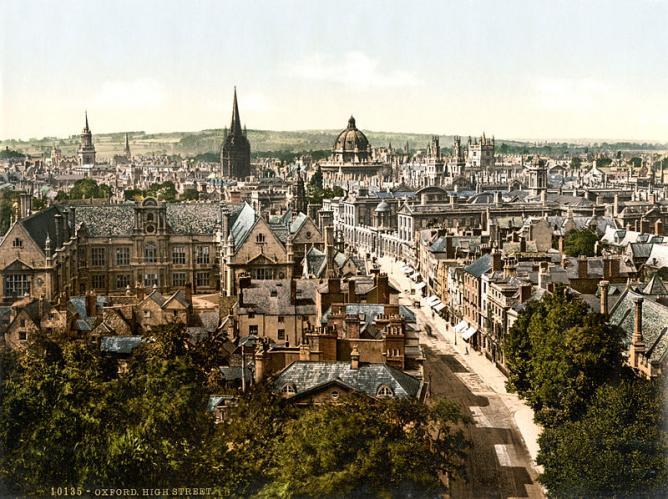 19th-century Oxford   © Photoglob Zürich/WikiCommons
