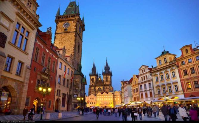 Prague's Old Town © Moyan Brenn/Flickr
