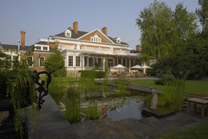 Langdon Hall and Lily Pond