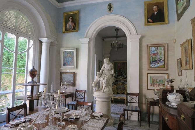 Inside of Casa Rocca Piccola