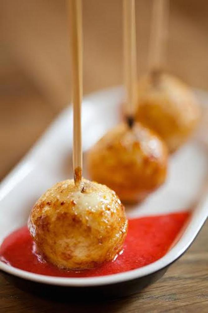 Creme brûlée lollipops   Courtesy of Night Kitchen