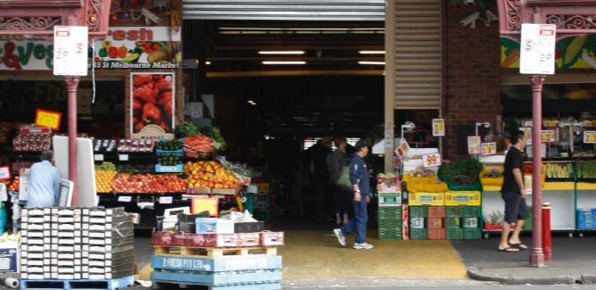 South Melbourne Market | © Wikipedia