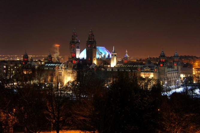 Glasgow by night | © lanan/Flickr