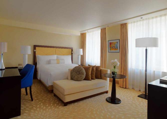 Guest Room | Courtesy of Marriott Yerevan