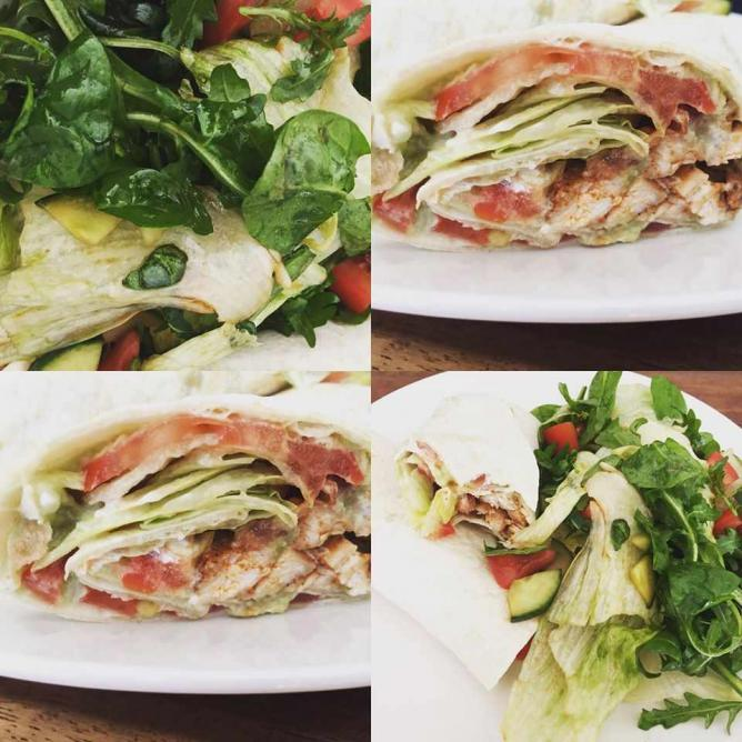 Breakfast wraps | Courtesy of Cafe Lilly's