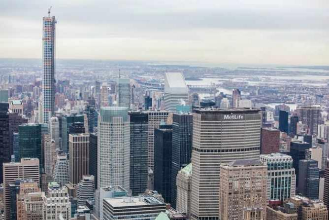 432 Park Ave New York City Skyline   © Anthony Quintano/Flickr