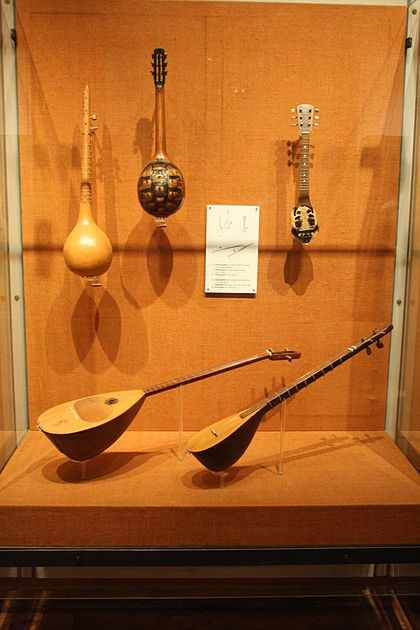 Traditional Greek folk music instruments | © Joan/WikiCommons