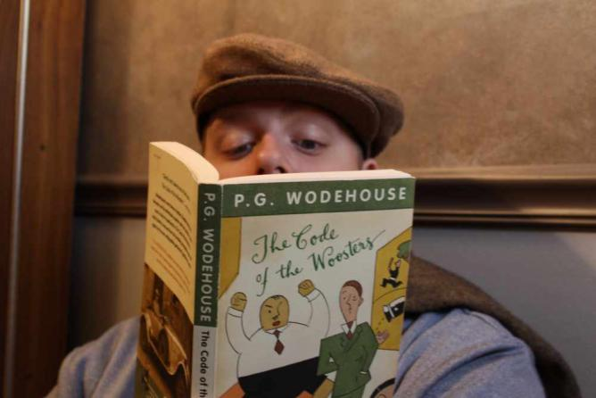Reading Wodehouse | © Steven P.Rodriguez/Flickr