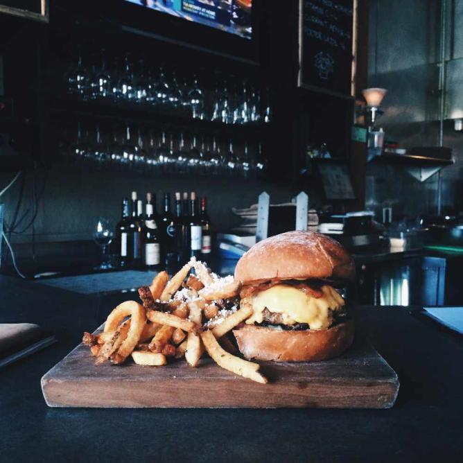 'The Perfect Burger' | Courtesy of Victory 44