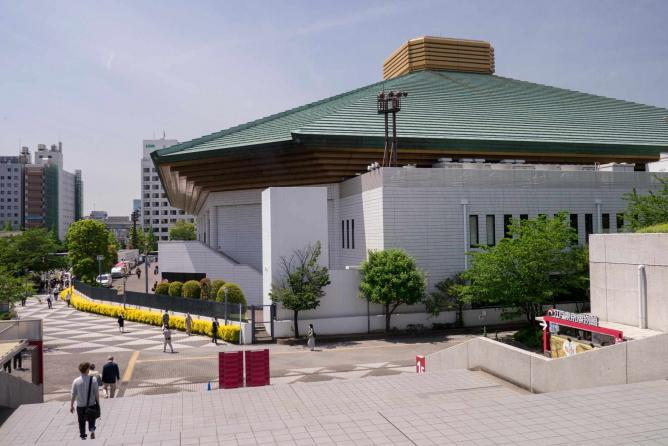 Tokyo sumo wrestling hall | © Yasmine Awwad/http://peekingduck.co