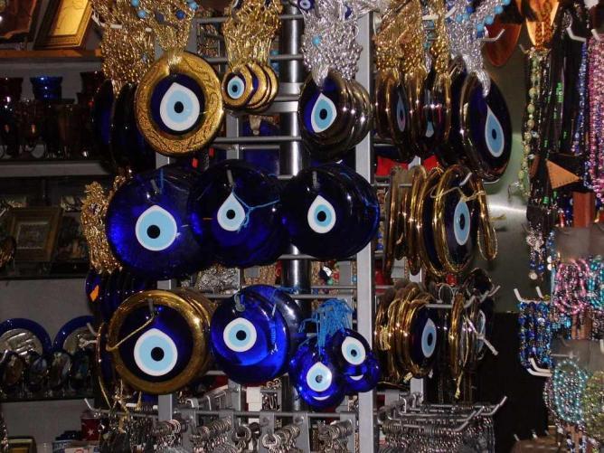 The traditional 'Nazar' amulet or 'Göz' (eye) | © FocalPoint/WikiCommons