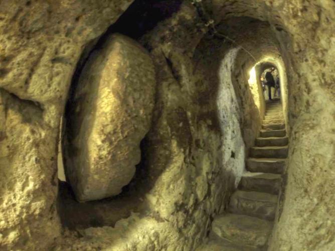 Derinkuyu Underground City | © Nevit Dilmen/WikiCommons