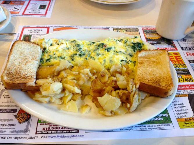 Diner Breakfast