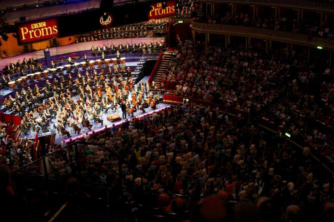 The BBC Proms | © Paul Hudson/Flickr