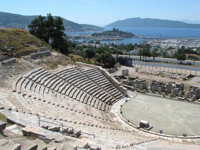 Bodrum Amphitheatre | © bazylek100/WikiCommons