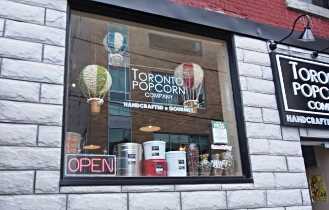 The Toronto Popcorn Company | Courtesy of The Toronto Popcorn Company