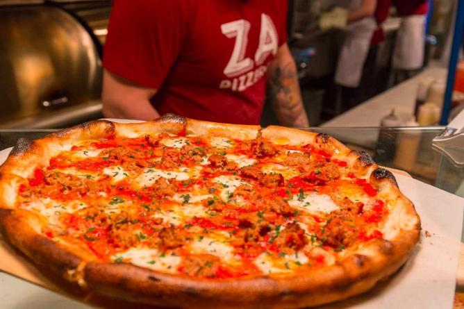 Pizza | Courtesy of Za Pizzeria