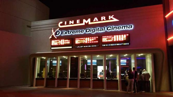 Cinemark 18 & XD | © Saadia Ahmed