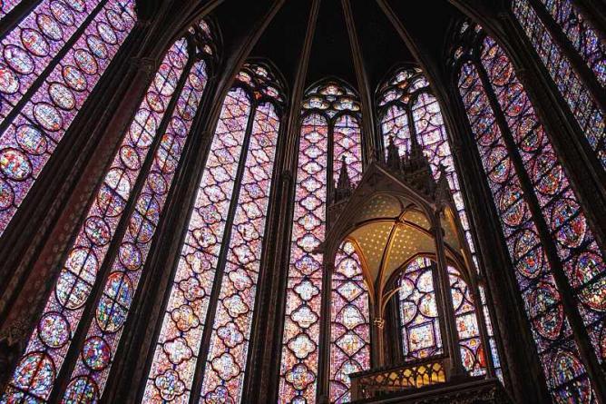 Interior of Sainte Chapelle | © Dimitry B./Flickr