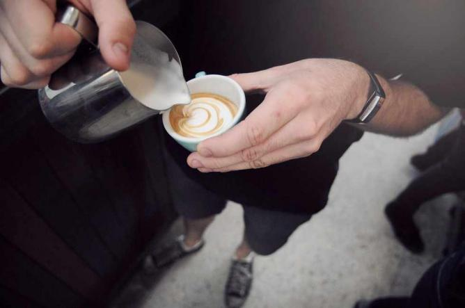 Coffee from Gordon Street Garage | Image Courtesy of Gordon Street Garage