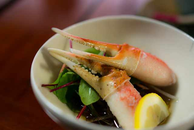 A dish of crab | © Takashi Hososhima/Flickr