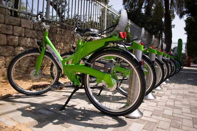 Tel-O-Fun bikes Tel aviv