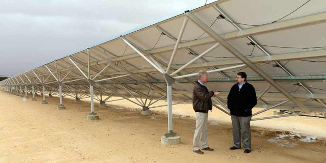 Solar Field Kibbutz Ketura